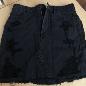 BRAND NEW jean skirt from Hollister size 5
